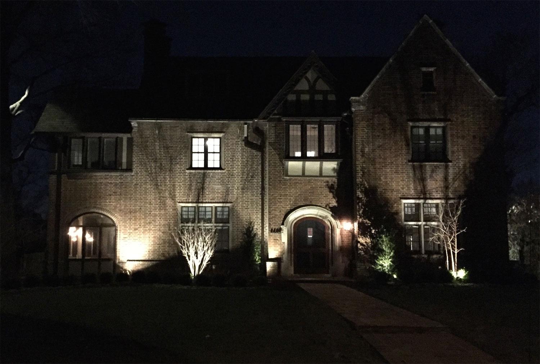 Lighting design and landscape lighting by outdoor creative design